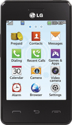 TRACFONE - LG 840G No-Contract Mobile Phone - Black