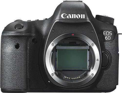 Canon - EOS 6D Dslr Camera (Body Only) - Black