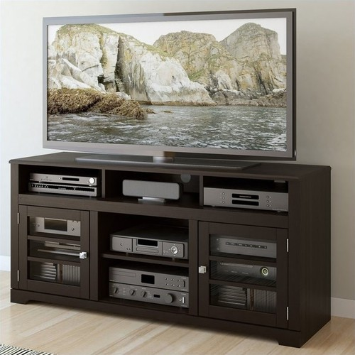 Sonax - TV Stand for TVs Up to 68 - Black
