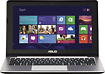 "Asus - 11.6"" Touch-Screen Laptop - 4GB Memory - 500GB Hard Drive - Steel Gray"