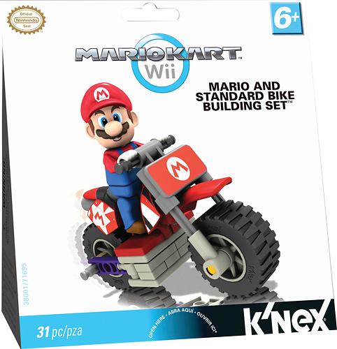 K'NEX - Mario Kart Wii Mario and Standard Bike Building Set