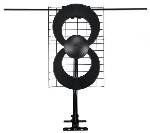 Antennas Direct - ClearStream 2V Long-Range HDTV Antenna - Black/Silver