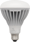 Sylvania - 14-Watt Dimmable BR30 LED Floodlight Lamp, 65-Watt Equivalent - Warm White