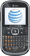 AT&T GoPhone - Alcatel 871A No-Contract Mobile Phone - White