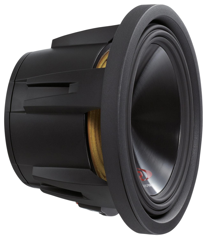Alpine - Type-R 10 Dual-Voice-Coil 2-Ohm Subwoofer - Black
