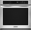 KitchenAid - 30&quot; Built-In Single Electric Wall Oven - Stainless-Steel