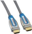 Rocketfish - Rocketfish 8' HDMI Digital A/V Cable for Wii U - Blue/Gray