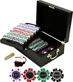 Trademark Poker - Casino Las Vegas 500-Piece 12-Gram Poker Chip Set - Chips: Purple, red, green, black