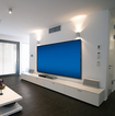 "Screen Innovations - Black Diamond Zero Edge 106"" Fixed Projection Screen"