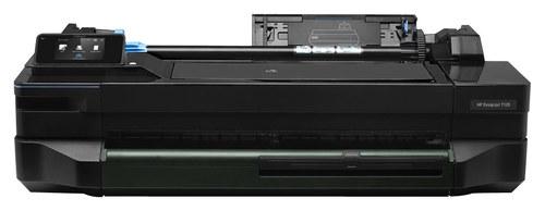 HP - DesignJet t120 Network-Ready Wireless ePrinter - Black