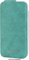 Kensington - Portafolio Flip Wallet for Apple iPhone 5 - Teal