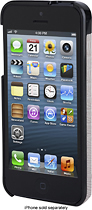 Kensington - Vesto Leather Case for Apple iPhone 5 - Gray