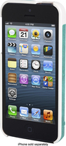 Kensington - Vesto Leather Case for Apple iPhone 5 - Teal