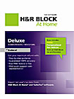 H & R Block At Home Deluxe Federal - Mac/Windows