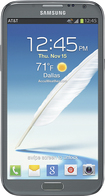 Samsung - Galaxy Note II 4G Mobile Phone - Titanium Gray (AT&amp;amp;T)
