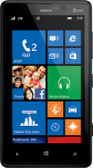 Nokia - Lumia 820 4G with 8GB Memory Mobile Phone - Black (AT&T)