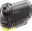 Sony - HDRAS15/B HD Flash Memory Action Camcorder - Black