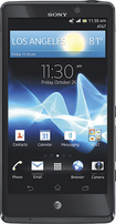 Sony - Xperia TL 4G Mobile Phone - Black (AT&amp;amp;T)