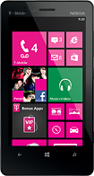 Nokia - Lumia 810 4G with 8GB Mobile Phone - Black (T-Mobile)