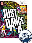 Just Dance 4 - PRE-OWNED - Nintendo Wii