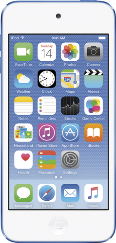 Apple - iPod touch® 32GB MP3 Player (6th Generation - Latest Model) - Blue