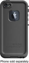 LifeProof - Case for Apple iPhone 5 - Black