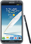 Samsung - Galaxy Note II 4G Mobile Phone - Titanium (Sprint)