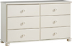 South Shore - Sand Castle 6-Drawer Dresser