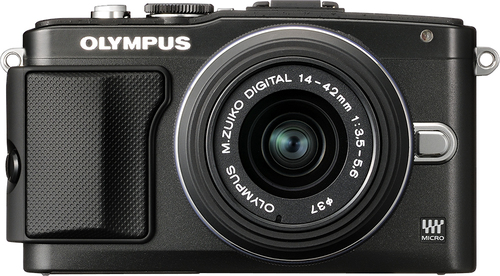 Olympus - PEN E-PL5 Mirrorless Camera with 14-42mm Lens - Black