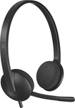 Logitech - H340 Over-the-Ear USB Headphones