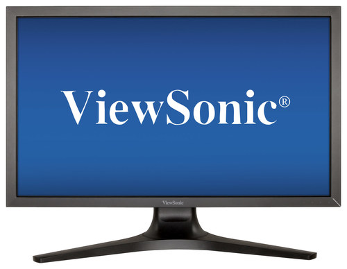 ViewSonic - 27 IPS LED HD Monitor - Black
