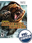 Cabela's Dangerous Hunts 2013 - PRE-OWNED - Nintendo Wii