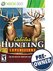 Cabela's Hunting Expeditions - PRE-OWNED - Xbox 360