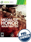 Medal of Honor: Warfighter - PRE-OWNED - Xbox 360
