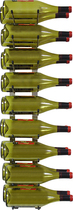 Epicureanist - Epic 18-Bottle Wine Rack - Nickel