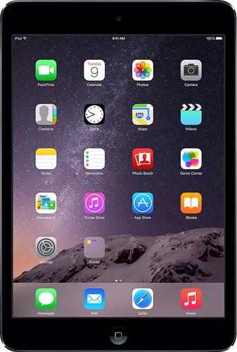 Apple - Geek Squad Certified Refurbished mini 2 with Wi-Fi - 32GB - Space Gray/Black