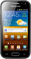 Samsung - Galaxy Ace 2 Mobile Phone (Unlocked) - Black