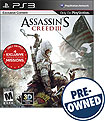 Assassin's Creed III - PRE-OWNED - PlayStation 3