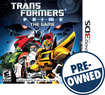 Transformers Prime: The Game - PRE-OWNED - Nintendo 3DS