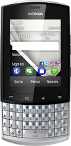 Nokia - Asha 303 Mobile Phone (Unlocked) - Silver