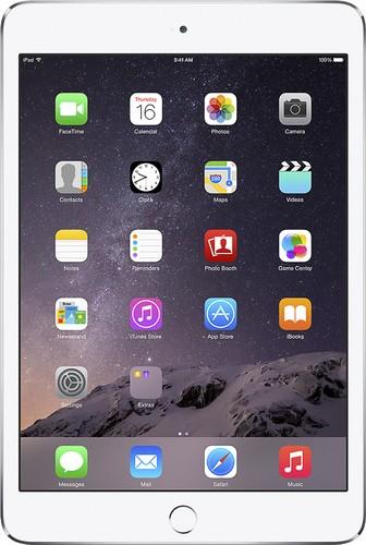 Apple - Geek Squad Certified Refurbished mini 3 Wi-Fi 16GB - Silver