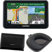 Solve Garmin Portable GPS with Case, Mount, and USB Cable Bundle - Black New