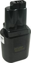 Lenmar - Nickel-Cadmium Battery for Select DeWalt Power Tools - Black