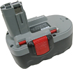 Lenmar - Battery for Select Bosch Power Tools - Gray