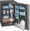 Sanyo 4.9 Cu. Ft. Compact Refrigerator - Black/Platinum