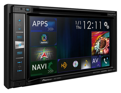 Pioneer - NEX - 6.2 - Built-In GPS - CD/DVD - Built-In Bluetooth - In-Dash Receiver with Partially Detachable Faceplate - Black
