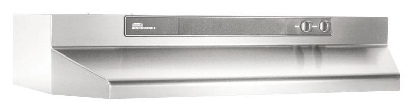 Broan - Intermediate 36 Convertible Range Hood - Stainless Steel (Silver)