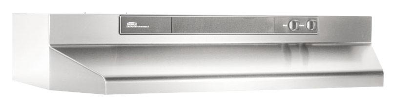 Broan - Intermediate 42 Convertible Range Hood - Stainless Steel (Silver)