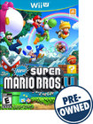 New Super Mario Bros U - PRE-OWNED - Nintendo Wii U