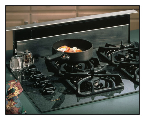 Broan - Eclipse 36 Telescopic Downdraft System - Stainless Steel (Silver)